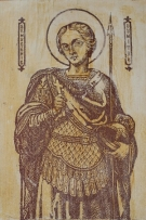 St. Dumitru's Orthodox Icon - the Saint who did help