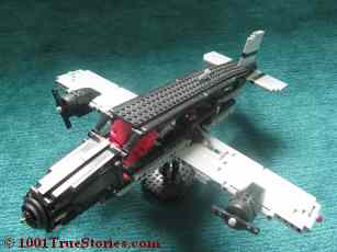 Lego airplane made by my son to bring you in the atmosphere of this farce. Still waiting for my brother to give me one of his pilot photos
