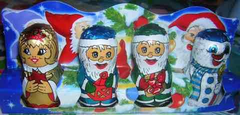 Chocolate Santa et Comp.