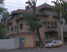 Living example for the glamour of the interwar period architecture in Bucharest, Romania